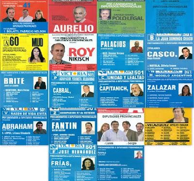 boletas de diputados provinciales