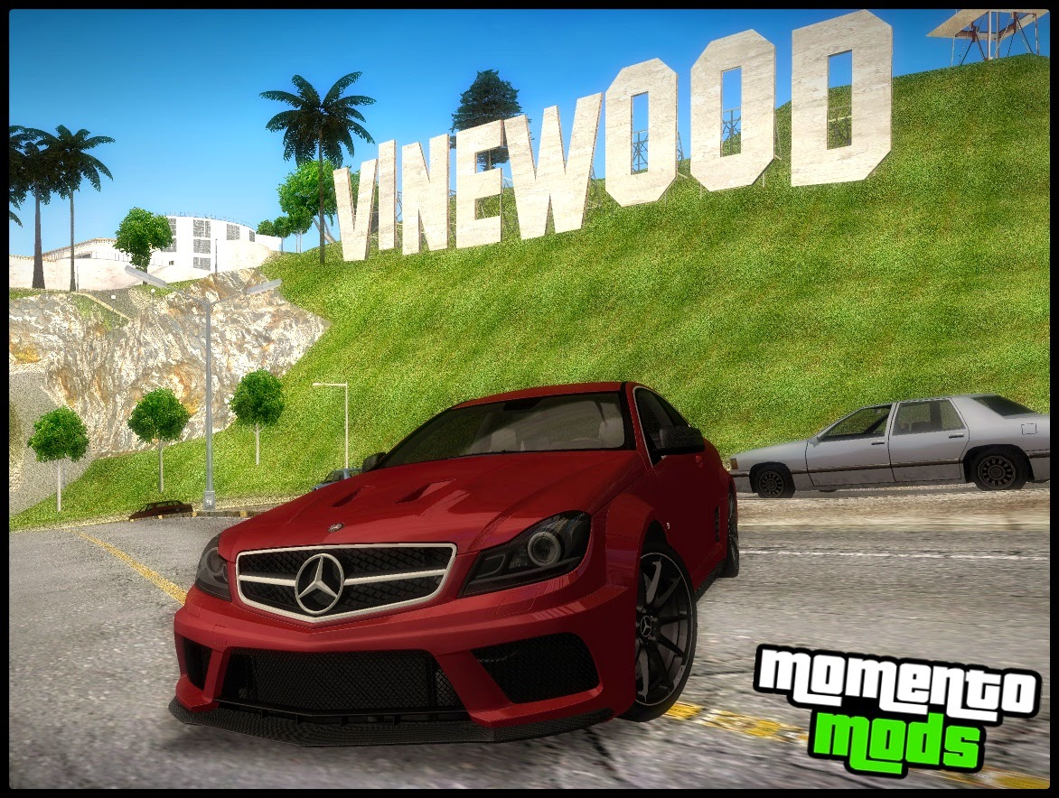 GTA SA - Mercedes Benz C63 AMG C204 Black Series