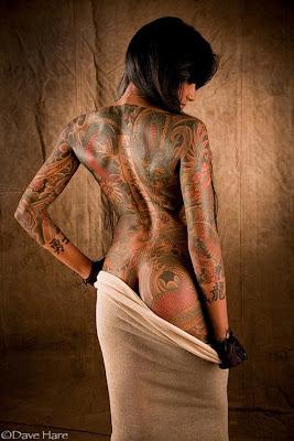 Gambar Tattoo Naga untuk Cewek Seksi