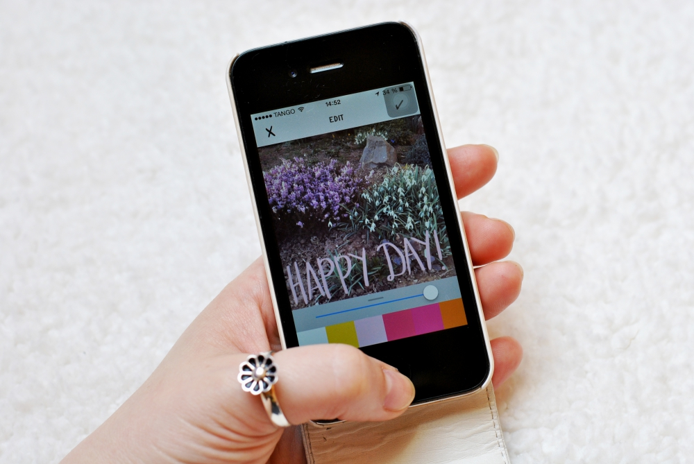 a beautiful mess app on iphone