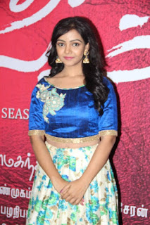 Nithya Shetty in Blue Short Choli and Skirt Spicy Pics at Kadhal Kaalam Tamil movie audio launch