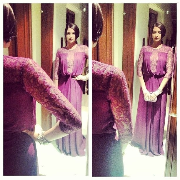 Sonam Kapoor heading to Colours party