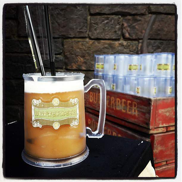 [Picture] 130619 Taeyeon Instagram Update: '신세계......♥너무맛있어서 할말을잃었어 #Butterbeer #Harrypotter'