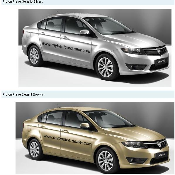 PROTON PREVE NOW ON MARKET