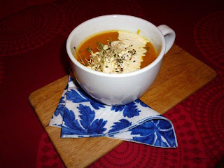 Zupa krem z dyni a'la Patison.