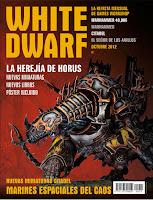 Portada de la revista White Dwarf 210 de Octubre