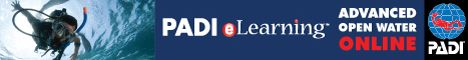 PADI advanced open water diver online e-learning