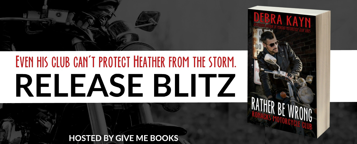 Rather Be Wrong Release Blitz