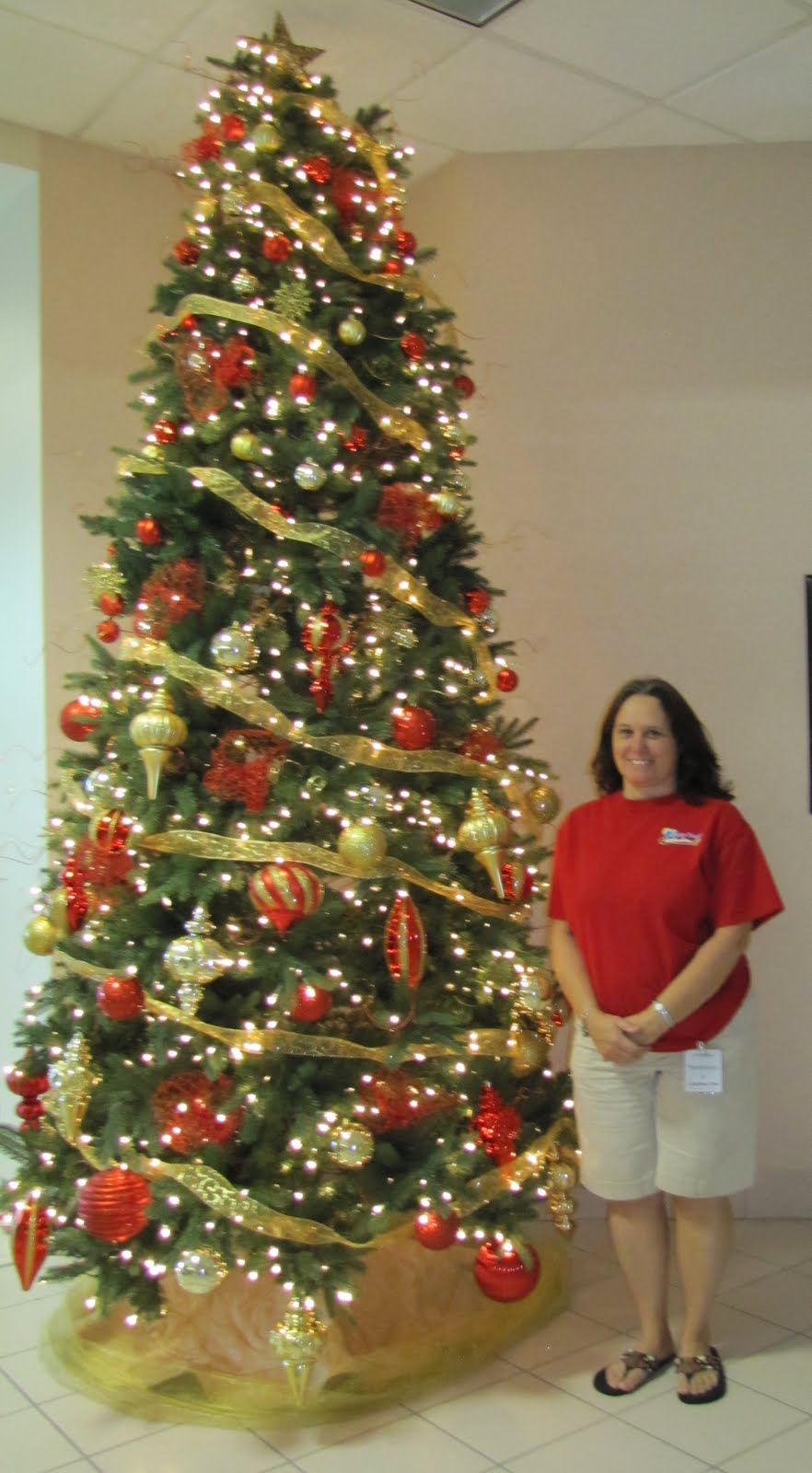 People Decorating For Christmas party people event decorating company: bartow hospital christmas tree