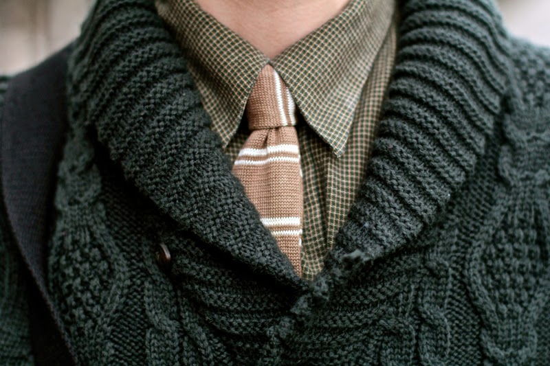 Tie Cardigan Burton Knitwear Blog mode Homme Mensfashion