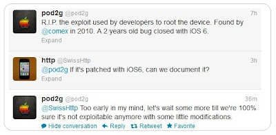 Jailbreak untethered iOS 6 for A5 devices