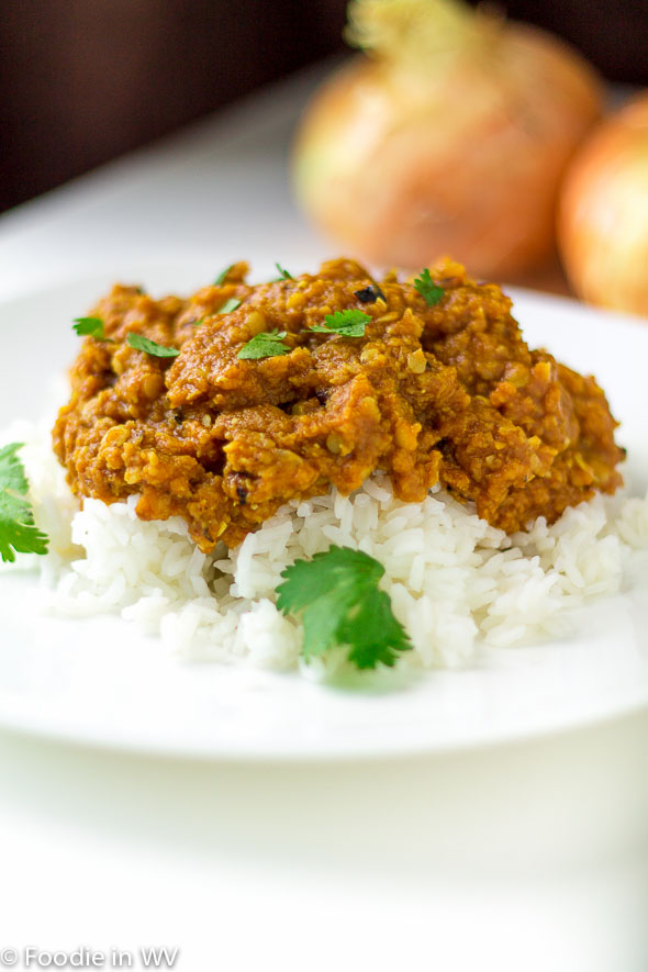 Click for Recipe for Red Lentil Curry