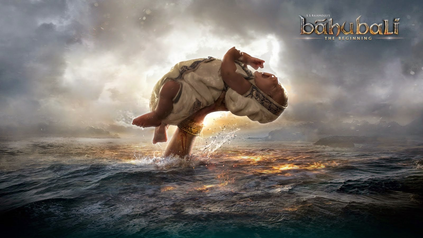 Baahubali New First Look HD Posters in Telugu,Tamil & Hindi