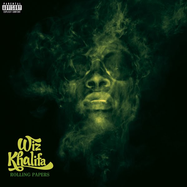 wiz khalifa album cover black and. wiz khalifa rolling papers