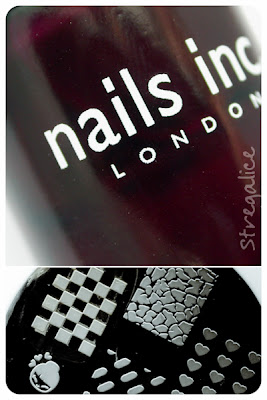 Nails Inc. Queensgate Mews - stamping