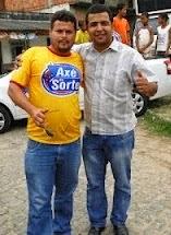 Bruno diretor Administrativo do Axé da Sorte Cap.