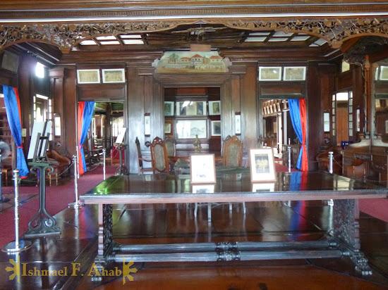 Inside the Aguinaldo Shrine