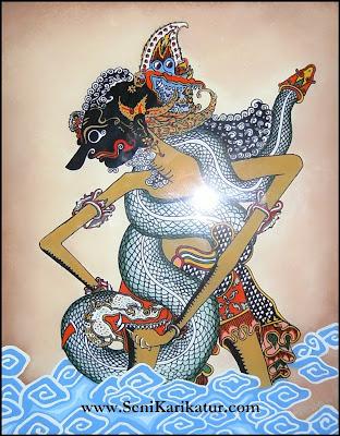 Lukisan yang menggambarkan tentang Indonesia