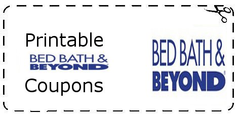 Printable Bed Bath and Beyond Coupons make you save on Bed Bath and