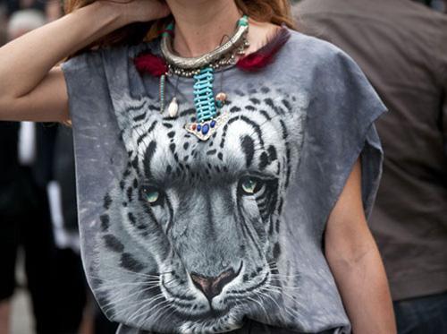 áo phông hình con hổ