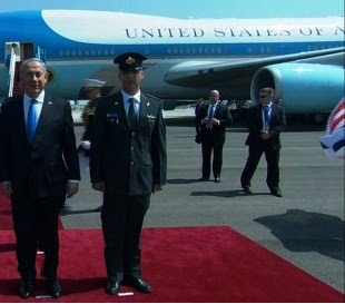 In 2013 on this day Americas first inaugural aniel arrived in Israel for his first state visit  since re-election [1].<span class=EditorText>An article from the <a href=http://www.todayinah.co.uk/index.php?thread=POTUS_Nathaniel>POTUS Nathaniel</a> thread.</span>