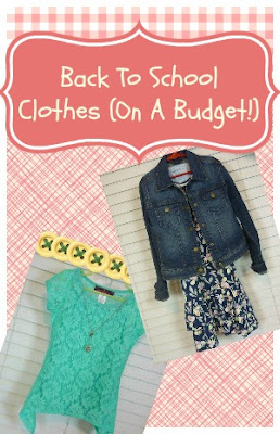 cute school clothes on a budget