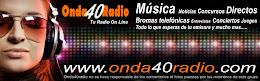ONDA 40  RADIO, CON JOSE MUÑOZ