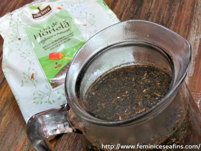 Chá de Hortelã Mãe Terra