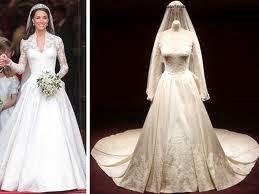 Baju pengantin Kate Middletone
