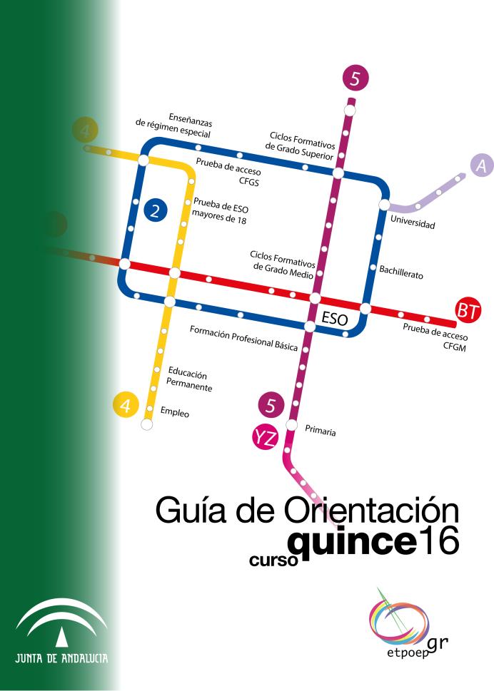 Guía de Orientación de Granada para el curso 2015-2016
