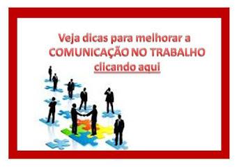 Lugar da COMUNICAÇÃO NO TRABALHO