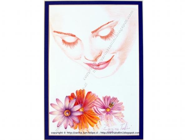 Venta de cuadros artisticos pintados por zarina tollini de for Vendo papel pintado