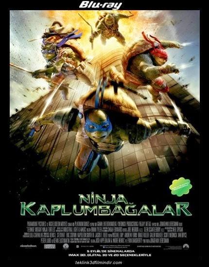Ninja Kaplumbağalar: Teenage Mutant Ninja Turtles (2014) afis