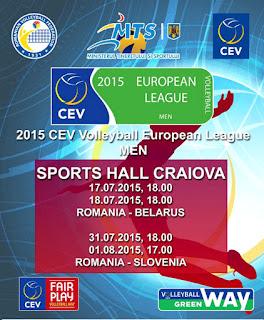 Romania - Belarus in Sala Polivalenta Craiova