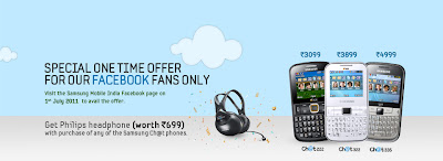 Samsung Chat Mobile Offer