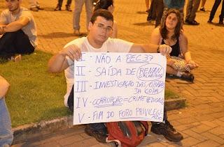 Manifestação em Três Lagoas - MS.