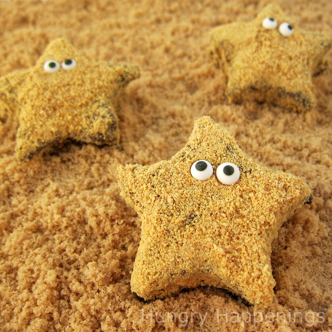 Turn homemade marshmallows into adorably cute Starfish S'mores. These ...