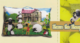 Balmut/ Bantal Selimut Shaun the sheep fata