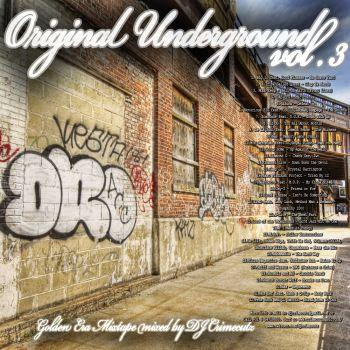Crimecutz (Moluxican) - Original Underground Vol 3 (2012)