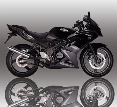 Kawasaki Ninja RR 150 Black