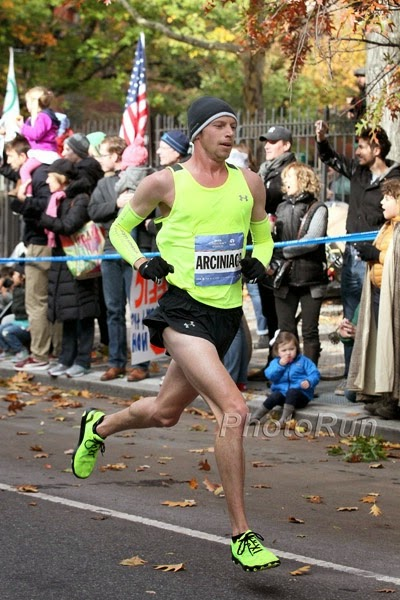 NYC Marathon Mile 25