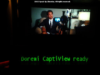Doremi CaptiView ready message during the previews
