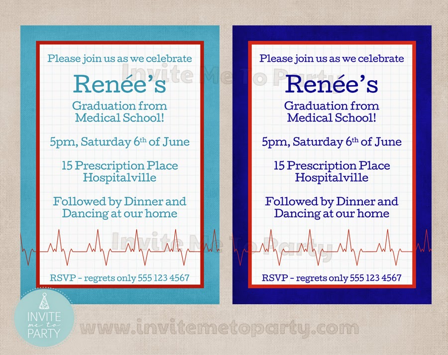 Invite Me To Party Medical Party Doctors Party Nurses Party