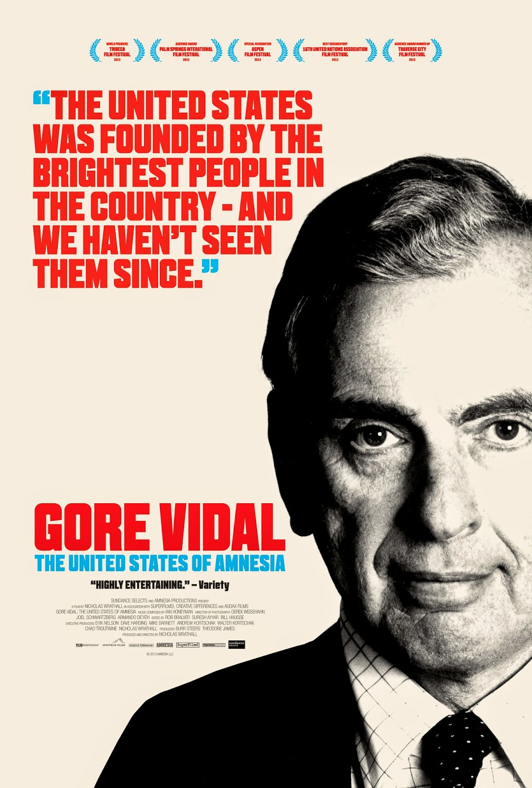the culture cave  gore vidal the united states of amnesia 2013