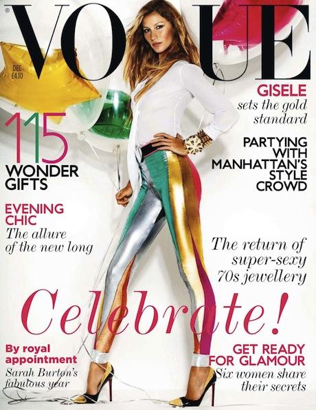 Gisele Vogue December 2011