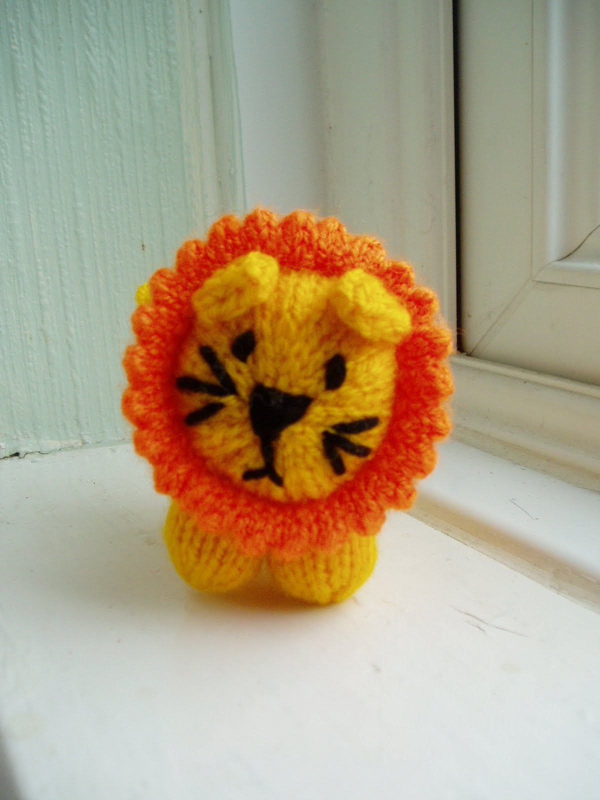 Free Pattern - Mini Lion