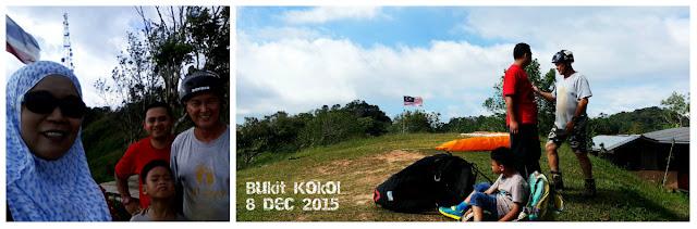 #Paragliding, #Sabah, #Bukit Kokol, #Tandem Paragliding