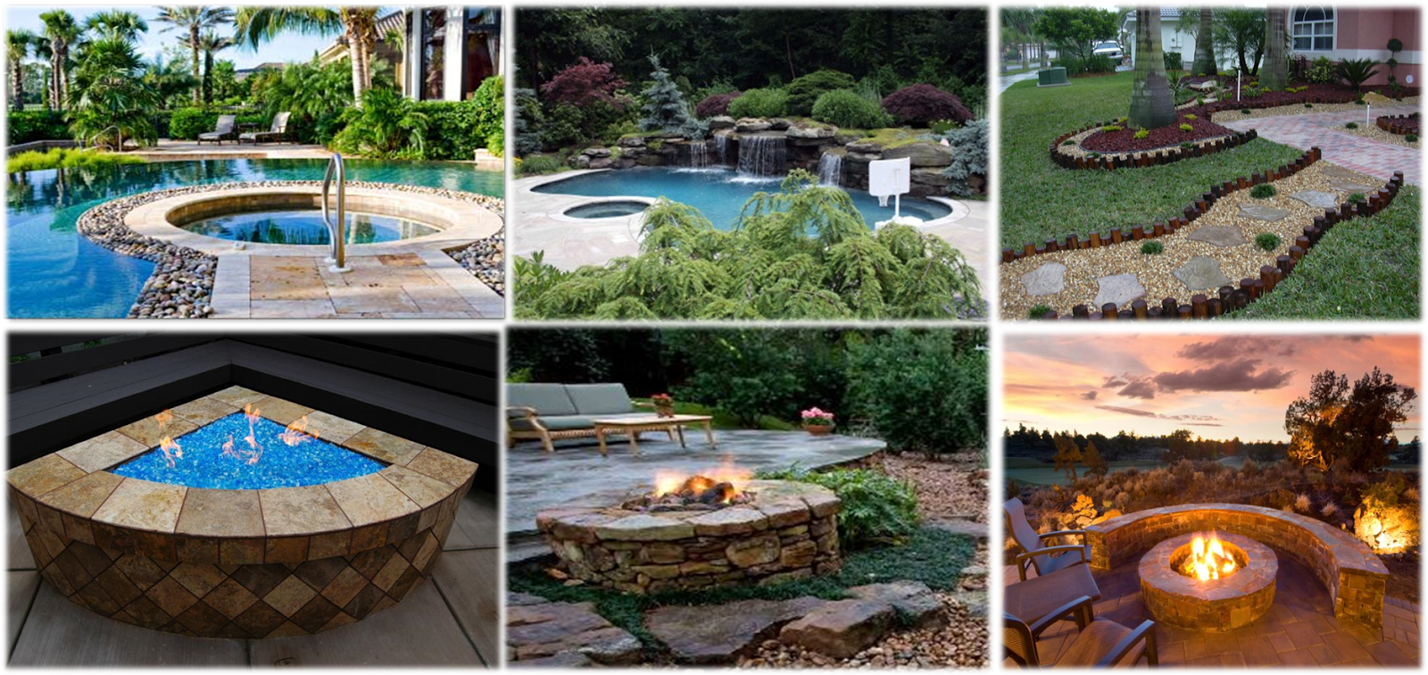 Landscaping A Pool Area : Yard landscaping van nuys