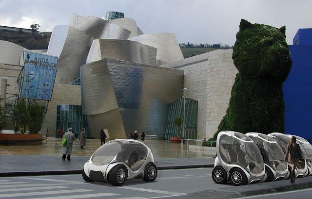 هيريكو ... سيارة المدينة ... سيارة المستقبل القادمة hiriko-folding-car-2