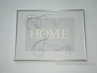 HOME with quilling 1   wesens-art.blogspot.com